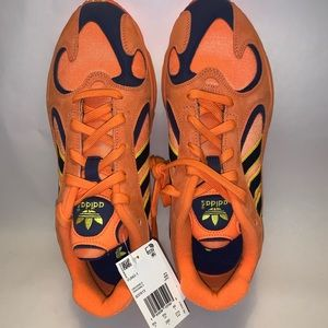 Adidas Yung-1 Dragon Z Goku Shoes Size 9 Orange